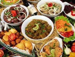 Repas creole pour noel