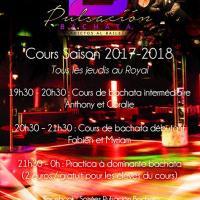 Salsa bachata kizomba - Discothèque Le Royal - Nantes