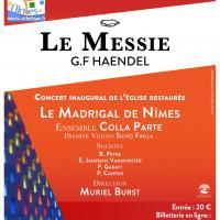 Concert Le Messie de Haendel