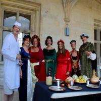 visites royales au château de Gaillon