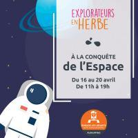 Les enfants à la conquête de l'espace à Aushopping Englos les Géants