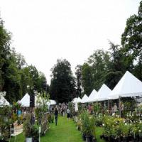 Salon des plantes à Trangis
