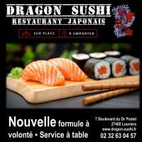 dragon sushis
