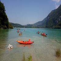 Kayak de mer à Aiguebelette