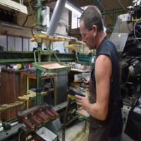 Viste de l'usine de chaussures SNM Marco