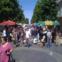 Marché du mardi à Rochefort