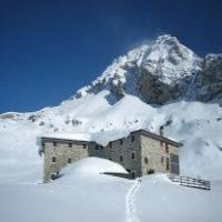 Noêl en Refuge Val d'Aoste Italie