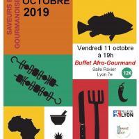 Buffet afro-gourmand