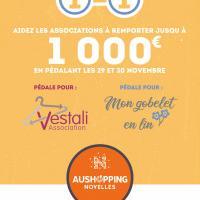 Défi solidaire au centre Aushopping de Noyelles-Godault