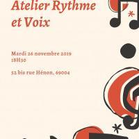 Atelier Rythme et Voix !
