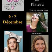 Café-théâtre, un trio féminin pour vous illuminer