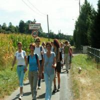 Rando dans la vallée de l'Eure près de Louviers
