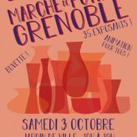 Marché de Potiers de Grenoble