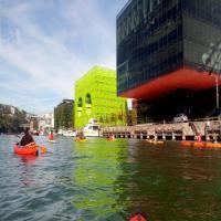Lyon en kayak