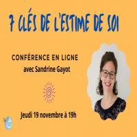 Conférence : Les 7 clefs de l'estime de soi