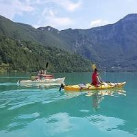 Aiguebelette en kayak