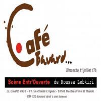 Le Café Bavard - Cabaret- Scène Ouverte