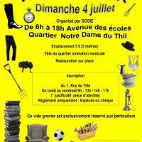 Vide-Grenier et fête de quartier  Notre Dame du Thil