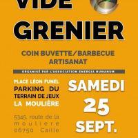 Vide grenier Barbecue La Moulière Caille
