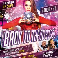 Soirée Back to 70/80/90s